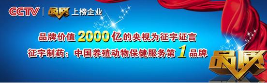 做中国养殖动物保健服务第1品牌是征宇制药的企业